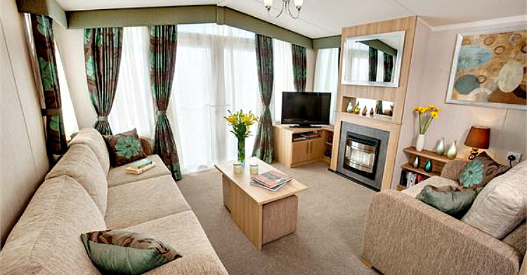 Example of Caravan Interior - Lounge