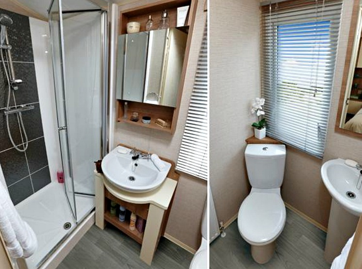 Example of Caravan Interior - Bathroom